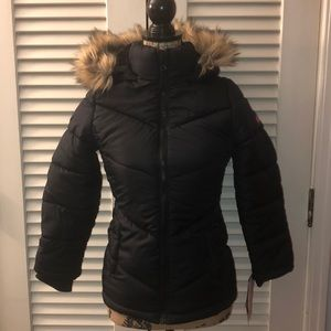 Weatherproof Hooded Puffer Coat